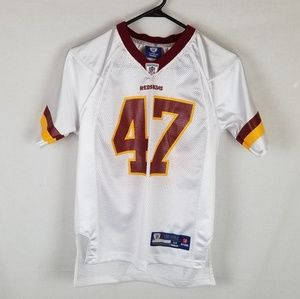REEBOK Washington Redskins CHRIS COOLEY Jersey YM